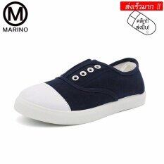 โปรโมชั่น Marino รองเท้ารองเท้าผ้าใบผู้หญิงสีน้ำเงิน No A041 Blue ใน สมุทรปราการ