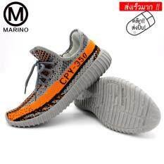 ราคา Marino รองเท้าผ้าใบ รองเท้าผ้าใบผู้ชาย รองเท้าแฟชั่น No B004 Grey Marino สมุทรปราการ