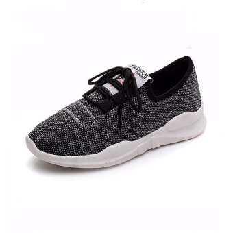 Marverlous Fashion Sneaker รองเท้า รองเท้าผ้าใบผู้หญิง No.1903 (Grey)
