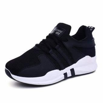 Marverlous Women Sport Casual Sneaker รองเท้าผ้าใบ รองเท้าผ้าใบผู้หญิง รองเท้าแฟชั่น L09 - Black