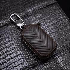 ราคา Marvintage กระเป๋าใส่กุญแจรถยนต์หนังแท้ลายลูกศรสีน้ำตาลเข้ม เล็ก 7 5X4 5ซม กระเป่าใส่พวงกุญแจหนังแท้เกรดพรีเมี่ยมพร้อมกล่อง ไอเดียของขวัญ กระเป๋าหนังใส่กุญแจรถยนต์ Premium Quality Brown Leather Car Key Pouch Size S 7 5X4 5Cm ใหม่