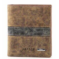 ซื้อ Matteo กระเป๋าเงินหนัง กระเป๋าสตางค์ 3 ชั้น รุ่น Yateer 2085 ออนไลน์
