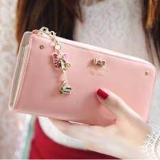 ซื้อ Maylin Bags กระเป๋าสตางค์ใบยาว กระเป๋าเงินผู้หญิง กระเป๋าสตางค์ ผู้หญิง รุ่น Mw 039 ชมพู Maylin เป็นต้นฉบับ