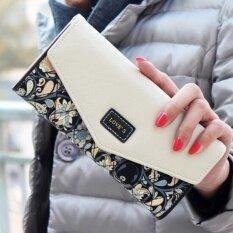 ราคา Maylin Bags กระเป๋าสตางค์ใบยาว ผู้หญิง กระเป๋าสตางค์น่ารัก กระเป๋าเงินผู้หญิง รุ่น Mw 016 สีดำ สีขาว กรุงเทพมหานคร