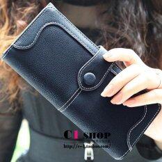 โปรโมชั่น Maylin Bags กระเป๋าสตางค์ใบยาว ผู้หญิง กระเป๋าสตางค์น่ารัก กระเป๋าเงินผู้หญิง รุ่น Mw 052 สีดำ กรุงเทพมหานคร
