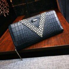 ขาย Maylin Bags กระเป๋าสตางค์ใบยาว ผู้หญิง กระเป๋าสตางค์น่ารัก กระเป๋าเงินผู้หญิง รุ่น Mw 104 สีดำ ผู้ค้าส่ง