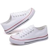 ราคา Maylin Shoes รองเท้าผ้าใบผู้หญิง รองเท้าผ้าใบสีขาว รองเท้าแฟชั่นผู้หญิง รุ่น Sm 007 สีขาว ใหม่ ถูก