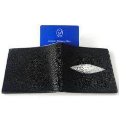 ซื้อ Mcroc กระเป๋าสตางค์หนังปลากระเบนแท้ 1ตา สีดำ มีบัตรรับประกัน ออนไลน์ กรุงเทพมหานคร