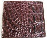 ราคา Mcroc กระเป๋าสตางค์หนังจระเข้แท้ ส่วนกระดูกสันหนัง สีน้ำตาล ใหม่ ถูก