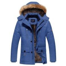 ส่วนลด สินค้า Medium Length Cotton Padded Jacket Intl