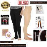 โปรโมชั่น Meiersi เลกกิ้งขาเรียว Big Size รักษาเส้นเลือดขอด รุ่น Be Health 1800 Den สีเนื้อและสีดำ แบบเหยียบส้น Meiersi ใหม่ล่าสุด