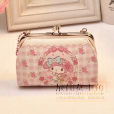 ราคา Melody ขนาดเล็กกระเป๋าสตางค์เกาหลีศูนย์กระเป๋าสตางค์หญิงใหม่นักเรียน ห่วงโซ่กระเป๋ามือพก Mymelody ใหม่