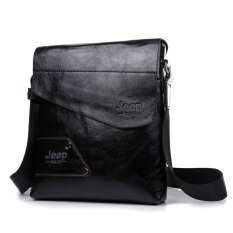 ซื้อ กระเป๋าสะพายกระเป๋าถือลำลองธุรกิจกระเป๋าสะพายเดียว ไหล่กระเป๋าหนัง สีดำ ออนไลน์ จีน