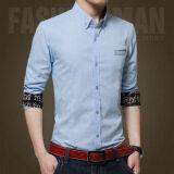 ขาย ชายสบายๆอย่างเป็นทางการธุรกิจเสื้อแขนยาวชายพอดีเสื้อ นานาชาติ ใน จีน