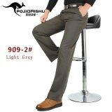 ขาย Men Cotton Casual Straight Pant Cargo Male Non Iron Thick Trousers Intl ออนไลน์ จีน