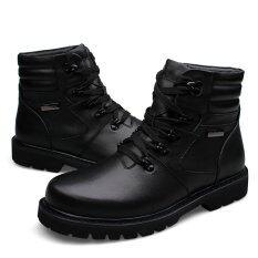 ราคา รองเท้าแฟชั่นผู้ชายส้นสูงฤดูหนาวฤดูหนาวรองเท้าบูทคาวบอย ออนไลน์