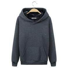 ขาย เสื้อกันหนาวสำหรับผู้ชายฤดูหนาวที่มีคุณภาพสูงผ้าฝ้ายพิมพ์สบายๆฮู้ด สีเทา นานาชาติ ถูก จีน