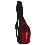 ขาย Men Nylon Waterproof Outdoor Sports Sling Chest Bag Shoulder Bag Red