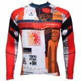 ขาย Men Outdoor Cycling Jersey Long Sleeve Bike Bicycle Clothing Intl ถูก ใน จีน