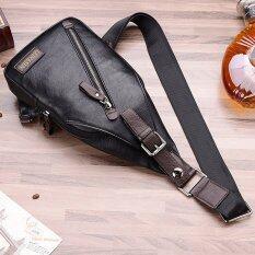 ซื้อ คนประกอบด้วยชายสันทนาการกระเป๋าสะพายกระเป๋าเป้กระเป๋าสะพายห่อหนึ่งห่อกระเป๋าหน้าอกเอว สีดำ ไม่มีกระเป๋าสตางค์ ออนไลน์