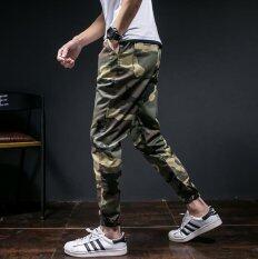 ราคา Men S Casual Pants Japanese Camouflage Slim Pants Pants Youth Shorts Pants Pants In Summer Intl เป็นต้นฉบับ Unbranded Generic