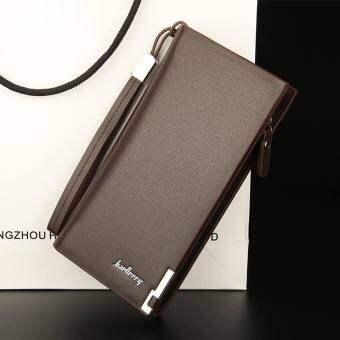 กระเป๋าสตางค์ ผู้หญิง กระเป๋าเงิน กระเป๋าตัง ทรงยาว Men Wallet Long Pattern PU Leather Wallet for Women -