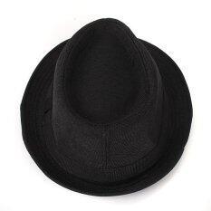 ราคา หมวกสตรีหมวกสักหลาดสไตล์ทหารคิวบา ปานามาNสวมหมวกแก๊ปหมวกปีกสั้นอ้วนใสนักเลง จีน