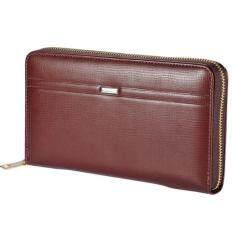 ซื้อ กระเป๋าสตางค์ผู้หญิง แบบยาว Menbense รุ่นใบใหญ่จุใจ สีน้ำตาล ใหม่