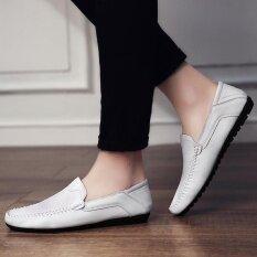 โปรโมชั่น รองเท้าบุรุษรองเท้าลำลองรองเท้า สีขาว นานาชาติ จีน