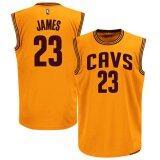 ราคา Men S Cleveland Cavaliers 23 Lebron James Basketball Jerseys Intl ราคาถูกที่สุด