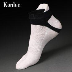 ซื้อ 2 Pairs Men S Cotton Socks With Anti Out Five Fingers K D0118 ใน จีน