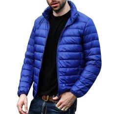 ราคา ผู้ชายลงเสื้อแจ็คเก็ตน้ำหนักเบาปักเป้าพร้อมกระเป๋าเดินทาง นานาชาติ Unbranded Generic จีน