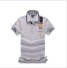ขาย ซื้อ ออนไลน์ Men S Lapel Men S Short Sleeves Polo Shirt Men S T Shirt Air Force One Intl