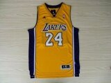ขาย Men S Nba Kobe Bryant 24 Road Basketball Jersey Gold Intl ใน จีน
