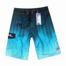 ราคา Men S New Fashion Beach Shorts Quick Drying Drawstring Boardshorts Surfing Shorts Intl ใหม่ล่าสุด