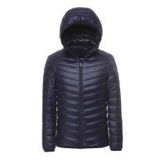 ขาย ชายเสื้อแจ็คเก็ตลง Jacket Ultra Light Down ขนาดกะทัดรัดเสื้อคลุม ผู้ค้าส่ง