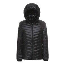 ทบทวน ชายเสื้อแจ็คเก็ตลง Jacket Ultra Light Down ขนาดกะทัดรัดเสื้อคลุม Lanbaosi