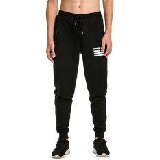ขาย ซื้อ ผู้ชายวิ่งกีฬากางเกงขายาวกางเกงขาสั้นกางเกงขาสั้นกางเกงขายาวสีดำ