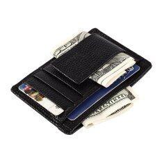 ขาย กระเป๋าสตางค์ที่เก็บบัตรเครดิตบัตรบุรุษสีดำ ถูก จีน