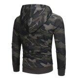 ราคา บุรุษแขนยาวลวงตาเสื้อกันหนาว Hoodie เสื้อกันหนาวเสื้อนอกเสื้อโค้ททนกว่า นานาชาติ Unbranded Generic