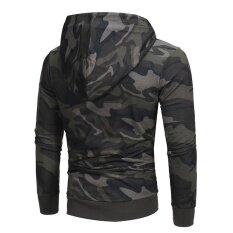 ขาย บุรุษแขนยาวลวงตาเสื้อกันหนาว Hoodie เสื้อกันหนาวเสื้อนอกเสื้อโค้ททนกว่า นานาชาติ ใหม่