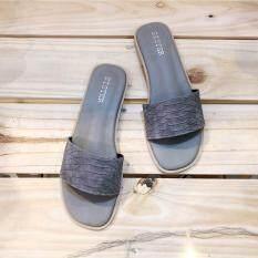 ราคา รองเท้าสไตล์มินิมอล รุ่นMermaid สีเทา Shoes By Naris เป็นต้นฉบับ
