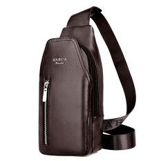กระเป๋าทรงแมสเซนเจอร์ สไตล์หนุ่มเกาหลี อัพเกรดสีน้ำตาลซิป อัพเกรดสีน้ำตาลซิป เป็นต้นฉบับ