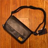 ขาย กระเป๋าสะพายไหล่เดี่ยวของผู้ชาย แบบเรียบง่าย สีดำ สีน้ำตาลอ่อน สีกาแฟอ่อน สีดำ สีดำ Other ออนไลน์