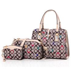 ซื้อ แพคเกจ Pip ยุโรปและอเมริกาในช่วงฤดูหนาวใหม่กระเป๋าสะพาย วงกลมสีสี Unbranded Generic ถูก