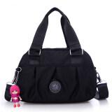 ราคา กระเป๋าสะพาย ผ้าOxfordของผู้หญิงMeiyulingxin สีดำ สีดำ Unbranded Generic ออนไลน์
