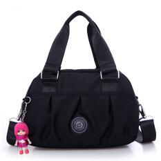 ขาย กระเป๋าสะพาย ผ้าOxfordของผู้หญิงMeiyulingxin สีดำ สีดำ เป็นต้นฉบับ
