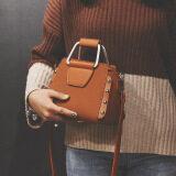 ส่วนลด ของ Messenger กระเป๋าเกาหลีผู้หญิงกระเป๋าหมุดสีตีซิป สีเหลืองสีน้ำตาล Unbranded Generic ฮ่องกง