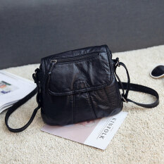 ราคา Zi Mei Yuan กระเป๋าสะพายแฟชั่นสำหรับผู้หญิง สีดำ สีดำ Unbranded Generic ใหม่