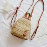 ซื้อ ขนาดเล็กกระเป๋าเป้สะพายหลังกระเป๋าสะพายเกาหลีหญิงใหม่ สีน้ำตาล ใหม่ล่าสุด